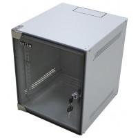 """Шкаф настенный 10"""" 6U серия WS (280х310х329), серый Netko"""