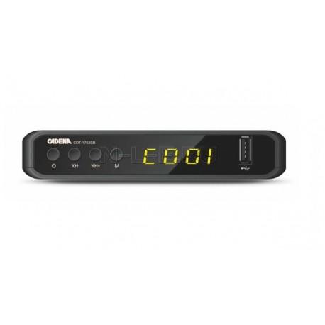 CADENA CDT-1753SB DVB-T2 приемник цифровой эфирный