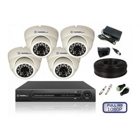 Комплект HD 4 камеры для помещения