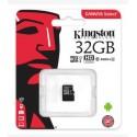 Карта памяти micro SDXC 32 Gb Kingston Class 10