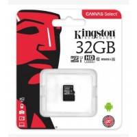 Карта памяти micro SDXC 32 Gb Kingston Class 10