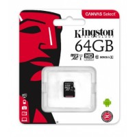 Карта памяти micro SDXC 64Gb Kingston Class 10
