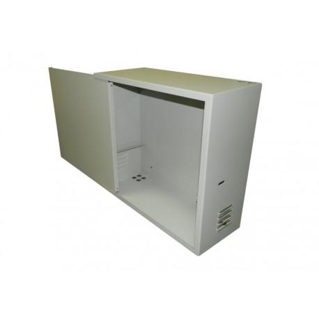 Антивандальный Шкаф Netko 3U пенального типа (550x220x500) направляющие, замок, серый