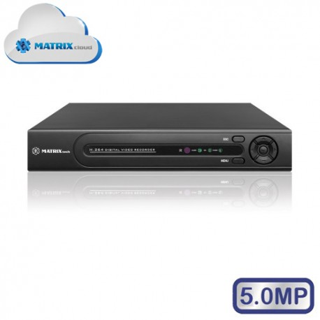 MATRIX M-16IP5.0MP H.265 IP-видеорегистратор 16 канальный