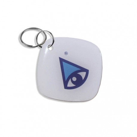 Бесконтактный брелок NEW (Blue) epoxy tag с логотипом