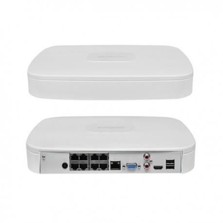 Dahua DHI-NVR2108-8P-4KS2 сетевой видеорегистратор 8 каналов с PoE-портами