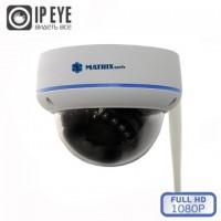 MATRIX MT-DW1080IP20F WiFi (3.6мм) беспроводная купольная IP-камера
