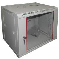 Шкаф настенный 9U серия WM (570х450х500), серый Netko