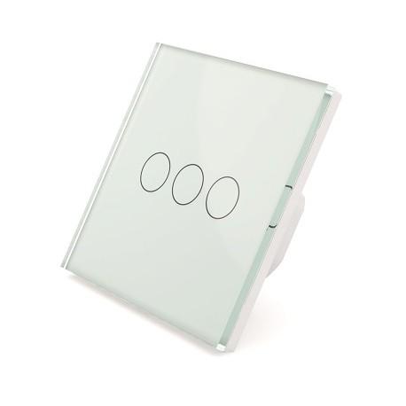 Sibling Powerlite-WS3W Умный сенсорный выключатель белый 3 клавиши