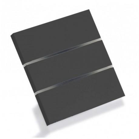 Sibling Powerlite-WS3BB Умный сенсорный выключатель люкс чёрный 3 клавиши
