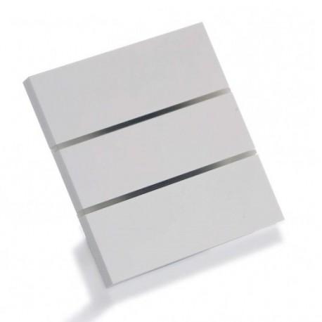 Sibling Powerlite-WS3BA Умный сенсорный выключатель люкс алюминий 3 клавиши