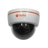 VeSta VC-2261V (2.8-12) AHD камера купольная варифокальная 2 МП, белый, M007