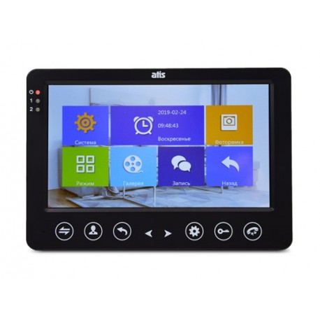 ATIS AD-720HD Black Монитор видеодомофона