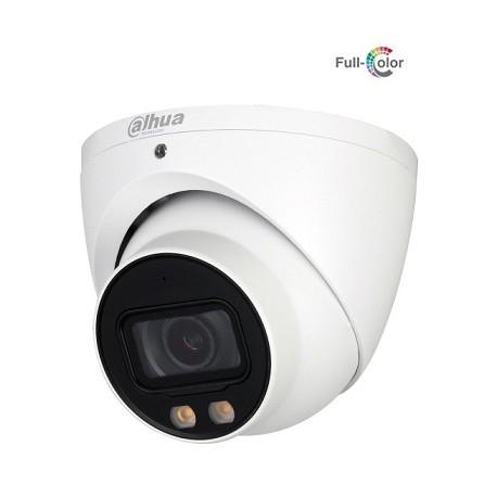 Dahua DH-HAC-HDW2249TP-A-LED-0360B Уличная купольная камера 2Мп Full-color Starlight