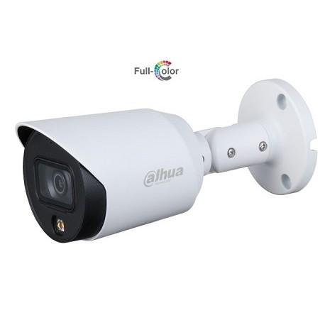 Dahua DH-HAC-HFW1509TP-A-LED-0360B Уличная цилиндрическая камера 5Мп Full-color Starlight