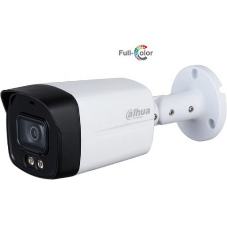 Dahua DH-HAC-HFW1239TLMP-LED-0360B Уличная цилиндрическая камера 2Мп Full-color Starlight