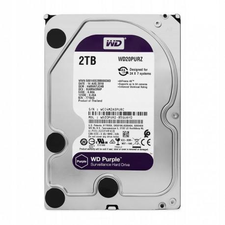 Жесткий диск HDD Western Purple 2 TB [WD20PURZ]