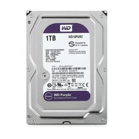 Жесткий диск HDD Western Purple 2 TB [WD10PURZ]