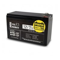 Аккумуляторная батарея Full Energy FEP-127 12В 7 Ач свинцово-кислотная