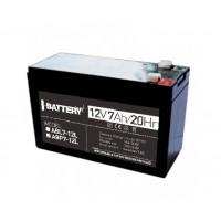 Аккумуляторная батарея I-Battery ABP7-12L 12В 7 Ач свинцово-кислотная