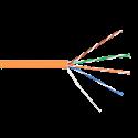 Кабель LC UTP4 cat.5е, одножильный / 305м / Cu / FRLS (малодымный)