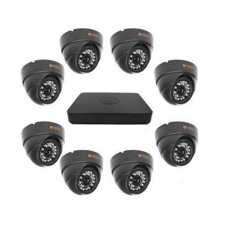 Комплект 8 камер IP IR