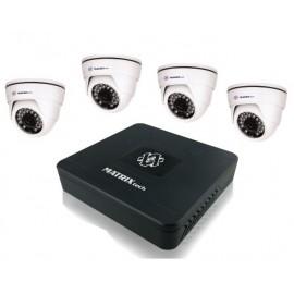 Комплект 4 камеры HD