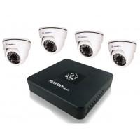Комплект 4 камеры AHD