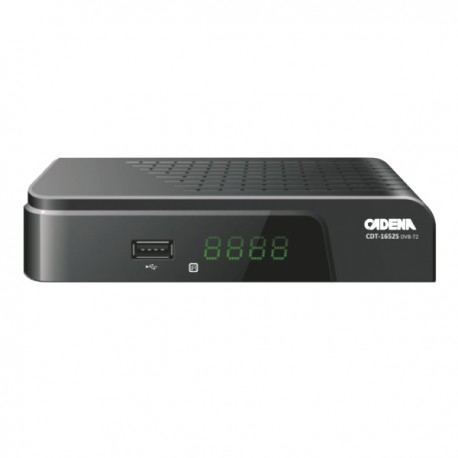 CADENA CDT-1652S DVB-T2 приемник цифровой эфирный