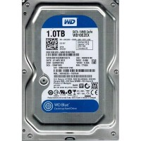 Жесткий диск HDD 1ТБ, Western Digital Blue
