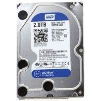 Жесткий диск HDD Western Digital 5400 Blue 2ТБ