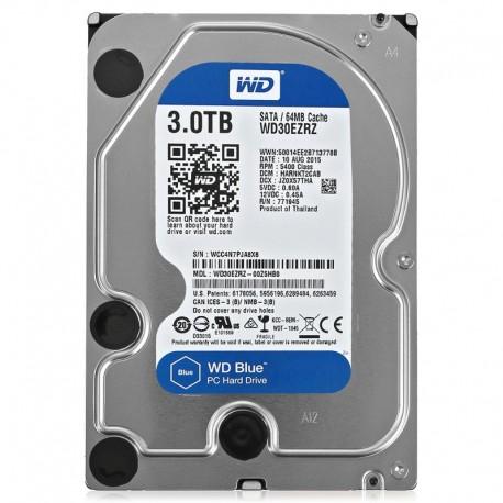 Жесткий диск HDD 3ТБ, Western Digital Blue