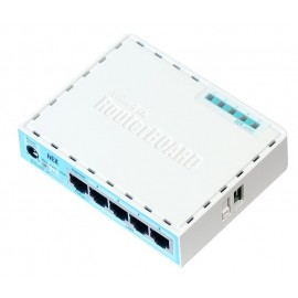 MikroTik hEX (RB750Gr3) маршрутизатор