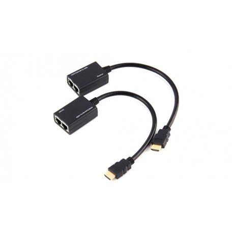 Удлинитель HDMI сигнала по 2 витым парам пассивный ST-HDMI04