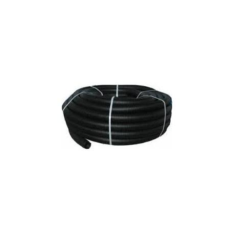 Гофра ПНД с зондом D20 мм черная наружная (100м)