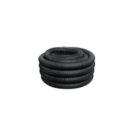 Гофра ПНД с зондом D25 мм черная наружная (50м)