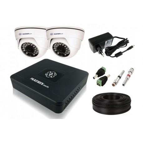 Комплект 2 камеры AHD