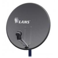 Спутниковая антенна Lans-80 0,80m (темная)
